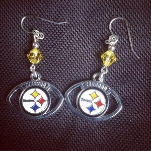 Jewelry - Handmade Steelers Earrings